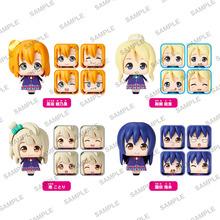 新作ミニフィギュア「くるころ」、第1弾「ラブライブ!」全9種を12月に発売! 顔パーツ4面に表情をプリント