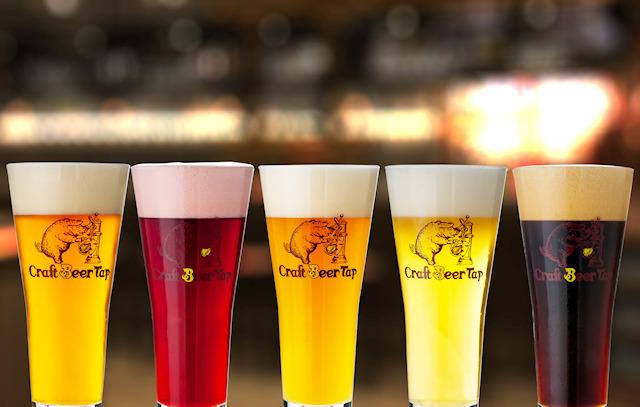 「クラフトビールタップ ヨドバシAkiba店」、10月2日にオープン!  海外ビール50種類以上が楽しめるビアレストラン