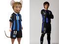 3DCG映画版「ガンバ」、ガンバ大阪とコラボ! 3選手がネズミ化したポスターをスタジアム周辺に掲出