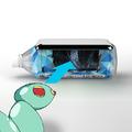 秋アニメ「コメット・ルシファー」、9月21日から新宿駅で不思議な体験参加型展示を実施! 「3Dっぽく見えるボトル」の配布も