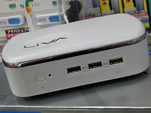 Windows 10搭載のファンレス小型PC「LIVA X 2」がECSから!