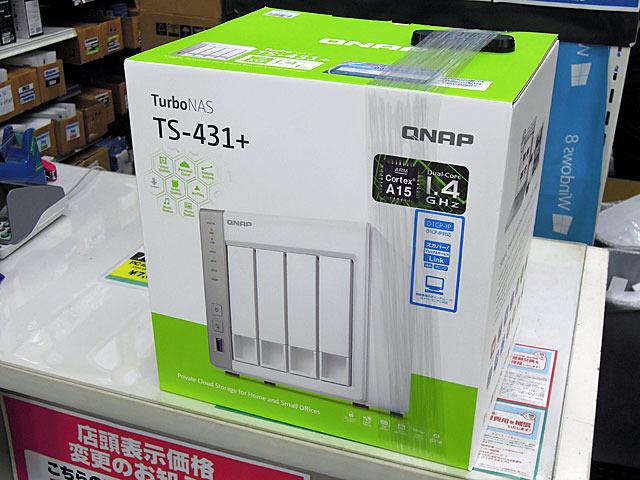 DTCP-IP対応のNASキット「TS-431+」&「TS-231+」がQNAPから!