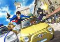 秋アニメ「ルパン三世」新TVシリーズ、BD/DVDは12月23日より全8巻でリリース! 第1巻は三方背BOX仕様