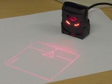 サイバーな投影式バーチャルマウス「DN-13293」が上海問屋から!