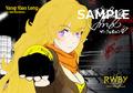 米国発3DCGアニメ「RWBY(ルビー)」日本語吹き替え版、第1章の来場者特典が決定! サイン入りブロマイド5枚セット