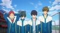 「映画 ハイ☆スピード!―Free! Starting Days―」、新規カットを公開! まだあどけなさの残る遙と真琴