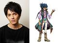 「劇場版 遊☆戯☆王」、新キャラ/キャストを発表! 謎の少年・藍神を演じるのは声優初挑戦の林遣都