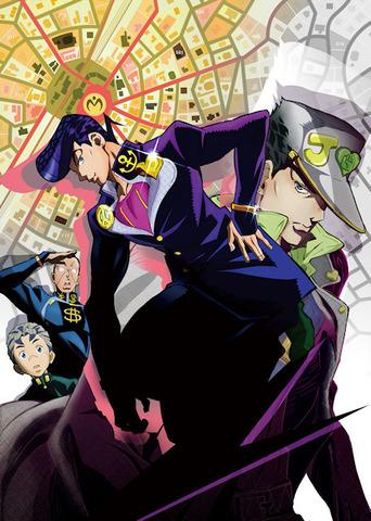 TVアニメ版ジョジョ、第4部「ダイヤモンドは砕けない」は2016年4月にスタート! ジョセフの隠し子・東方仗助役には小野友樹