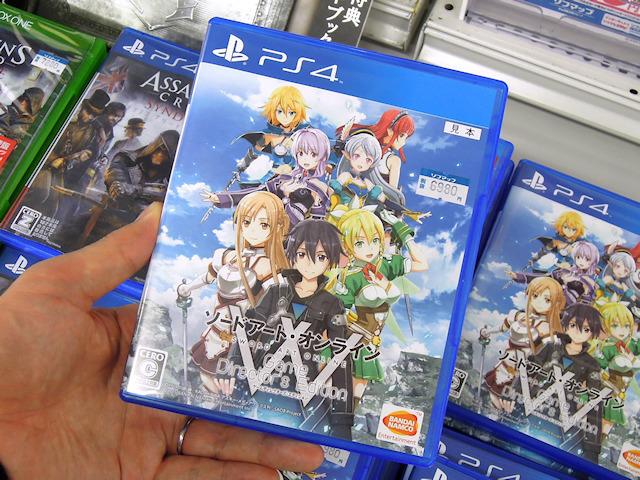 PS4「ソードアート・オンライン ゲームディレクターズ・エディション」
