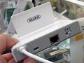 有線LANポート搭載のOTG対応USBハブ「Y-2175」がUNITEKから!