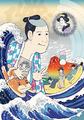 浮世絵ギャグショートアニメ「磯部磯兵衛物語」、12月12日に配信開始! 場面写真も到着