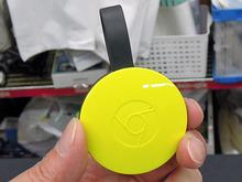 Googleの小型ストリーミング端末「Chromecast」の新モデルが販売中
