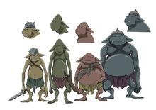 冬アニメ「灰と幻想のグリムガル」、生物の設定画を公開! 世界観を深める様々な種族たち