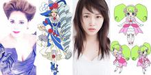 アニメ映画「プリパラ み~んなのあこがれ♪レッツゴー☆プリパリ」、デヴィ夫人が声優初挑戦! 元AKB48・川栄李奈も出演