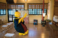 TVアニメ「暗殺教室」、殺せんせーが受験生の合格を祈願! 雑司が谷・大鳥神社での祈祷式レポート