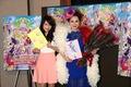 デヴィ夫人、声優業に意欲! アニメ映画「プリパラ」最新作、デヴィ夫人と元AKB48・川栄李奈がアフレコを実施