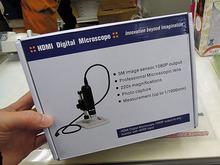 HDMI出力対応のデジタル顕微鏡「HidemicronFHD」がテックから!