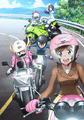 女子高バイク青春アニメ「ばくおん!!」、キービジュアルと放送情報を発表! 極上爆音仕様の先行上映会開催も決定