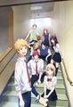 TVアニメ「虹色デイズ」、男女8人を描いた新メインビジュアルを公開! 本人役で出演するソナーポケットのキャラ設定画も