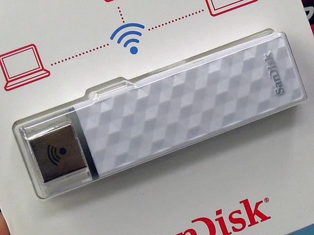 SanDiskの無線LAN搭載USBメモリ「CONNECT Wireless Stick」に容量200GBモデルが登場!