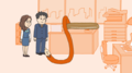 TVアニメ「朝だよ!貝社員」、4月から日テレ「ZIP!」内でスタート! ダメ会社員あるあるネタを歌とコントで紹介