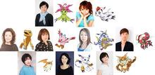 アニメ映画「デジモンアドベンチャー tri.」、デジモン担当キャスト9名からのコメントが到着! 第2章も興行収入1億円を突破