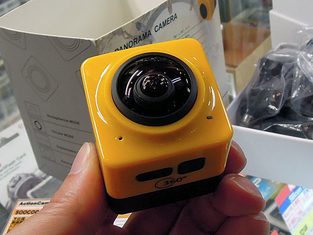 360°撮影対応のパノラマカメラSOOCOO「CUBE 360 Panorama Video Camera」が販売中