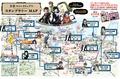 春アニメ「文豪ストレイドッグス」、横浜でスタンプラリー開催! オリジナル乗車券、崎陽軒とのコラボ菓子も発売