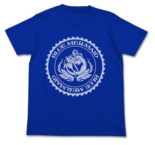 春アニメ「ハイスクール・フリート」、Tシャツと旗を発売! ブルーマーメイドの象徴となるエンブレムをデザイン