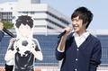 サッカーアニメ「DAYS」×U-14、イベントレポート! 吉永拓斗、浪川大輔がチャリティ募金&トークショーに参加