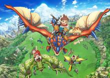 TVアニメ「モンスターハンター ストーリーズ RIDE ON」、10月スタート! キャスト&スタッフを発表