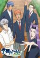 伝説のBLゲーム原作アニメ「学園ハンサム」、10月スタート! さらなる目標達成でLINEスタンプ、第2期制作も!?