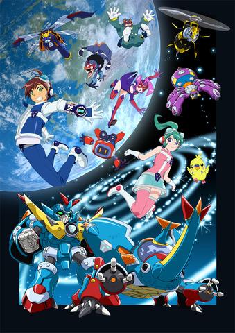 TVアニメ「タイムボカン24」、10月スタート! クリエイティブ・プロデューサーに日野晃博氏、メカニックデザインに大河原邦男氏