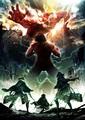 TVアニメ「進撃の巨人」、第2期は2017年春スタート! 新ビジュアルが解禁に