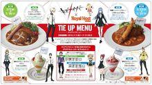 TVアニメ「キズナイーバー」、ロイヤルホスト秋葉原店で限定コラボメニューが登場! 料理とデザート全4品