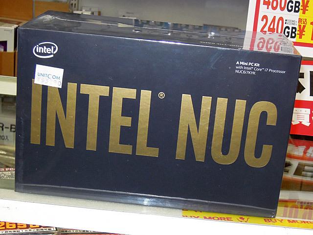 外部GPU対応のゲーマー向けIntel NUC「NUC6i7KYK」が登場!