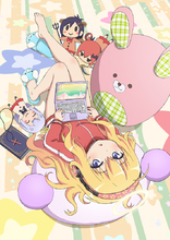 「ガヴリールドロップアウト」、TVアニメ化決定! 自堕落な生活を送る天使のスクールコメディ