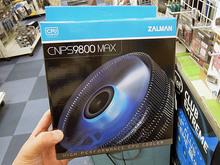 12cmファン搭載のサイドフロー型CPUクーラー「CNPS9800 MAX」がZalmanから!