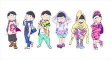 TVアニメ「おそ松さん」、「東京ガールズコレクション」とコラボ! 6つ子がまさかのランウェイ・ウォークを披露
