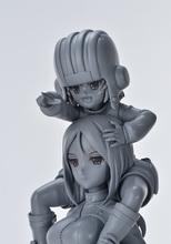 TVアニメ「ガルパン」より、カチューシャ&ノンナがカラーレジンキットで登場! 製作中の原型画像が到着