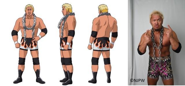 秋アニメ「タイガーマスクW」、追加キャスト発表! プロレスラー・真壁刀義役を本人が熱演