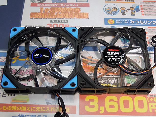 ファンにホコリがたまるのを防ぐ「DFR」機能搭載ファン ENERMAX「D.F.VEGAS」が販売中