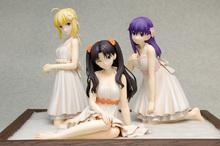 「Fate/stay night [UBW]」より、セイバー、凛、桜がワンピース姿でフィギュア化! ベースが付属する「プレミアムセット」も