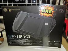 デュアルファン搭載のゲーミングノートPC用クーラー「SF-19 V2 USB3.0」がCOOLERMASTERから!
