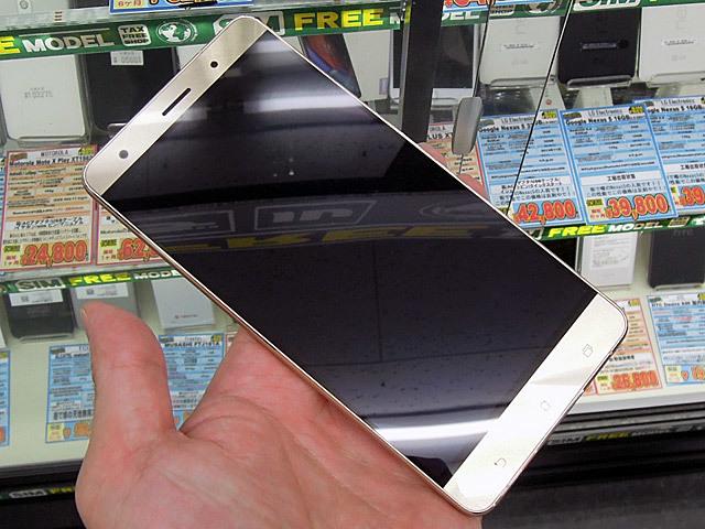 6GBメモリ搭載のASUS製ハイエンドスマホ「ZenFone 3 Deluxe」にゴールドモデルが登場!