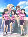 冬アニメ「南鎌倉高校女子自転車部」、いかさんが歌うEDテーマCDのジャケット画を公開! カップリング曲も発表