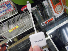 Lightning接続のiPhone向けSD/microSDカードリーダーTranscend「TS-RDA2W」が販売中