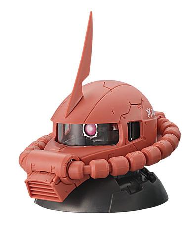 ガシャポン「機動戦士ガンダム EXCEED MODEL ZAKU HEAD」2月中旬登場! 本格的ディスプレイモデルをワンコインで