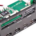 電力メーター付きUSBポート搭載の多機能5インチベイ用パネルSilverStone「FP59」が発売中
