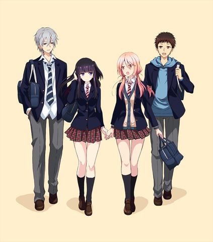 TVアニメ「捏造トラップ-NTR-」、第1弾キービジュアルを解禁! スタッフ情報も発表に